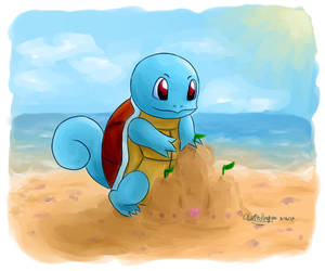 Squirtle by Usachii