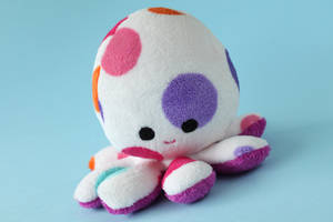 PIKA-colorful octopus plushie by FizziMizzi