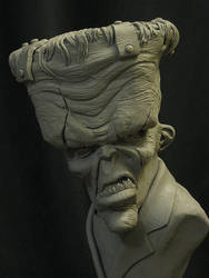 Big Top Franky WIP by Blairsculpture