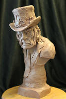 Zombie Priest From The Goon WIP by Blairsculpture