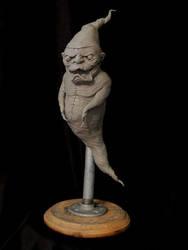Rat-fink-ghost-wip by Blairsculpture