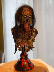 Zombie-bust-finished by Blairsculpture
