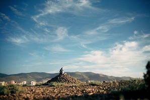 Mongolia Rock heap by yenyen0615