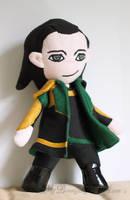 Loki Plush by MyBeautifulMonsters