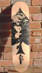 Spades 13 Skateboard Deck by MyBeautifulMonsters