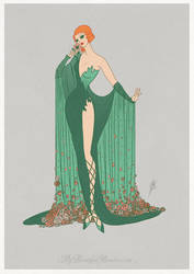 Art Deco - Poison Ivy by MyBeautifulMonsters