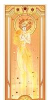 Samus Aran - Art Nouveau by MyBeautifulMonsters