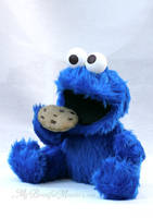 Cookie Monster Plush Commission by MyBeautifulMonsters