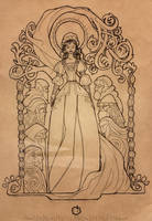 Inktober 2017 - Snow White by MyBeautifulMonsters