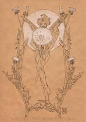 Dandelion Fairy by MyBeautifulMonsters