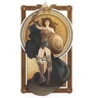 Wonder Woman by MyBeautifulMonsters