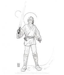 Luke Skywalker by MyBeautifulMonsters