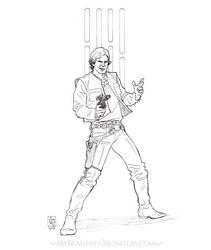 Han Solo by MyBeautifulMonsters