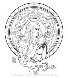 Daenerys Targaryen by MyBeautifulMonsters