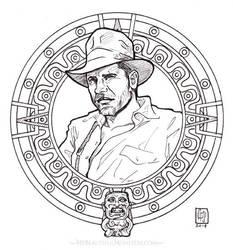 Indiana Jones -Raiders of the Lost Ark by MyBeautifulMonsters
