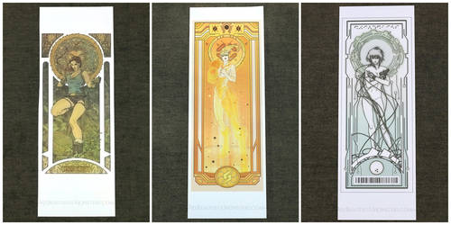 Gamer Girl Gang Art Nouveau Print Sale by MyBeautifulMonsters
