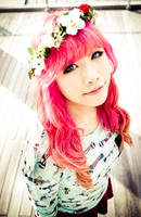 Flower Wreath-Miyuki by MiiyuKorner