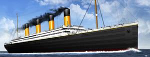RMS TITANIC by ERIC-ARTS-inc