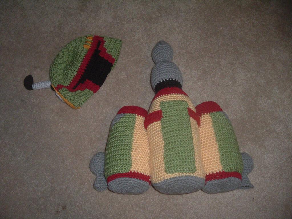 Star Wars Crochet Boba Fett Hat And Jetpack By Nanettecrochet On