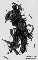 Iron Man # Black on Black by Romantar