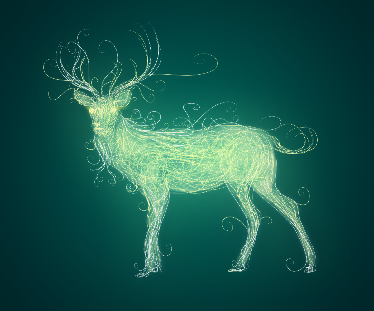 Deer by Romantar