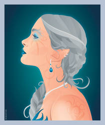 Elven Portrait by Romantar