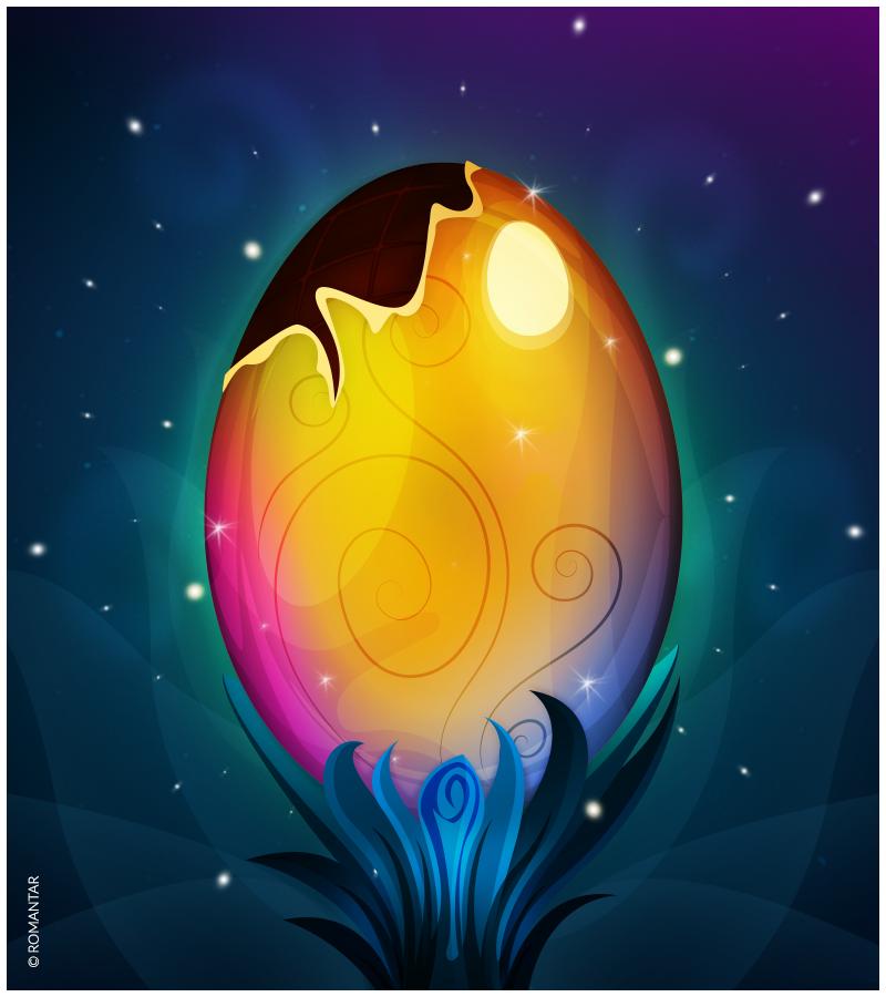 Easter egg by Romantar