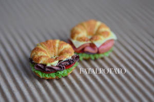clay croissant sandwiches revisited by FatalPotato