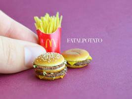 itsy bitsy burgers IV by FatalPotato