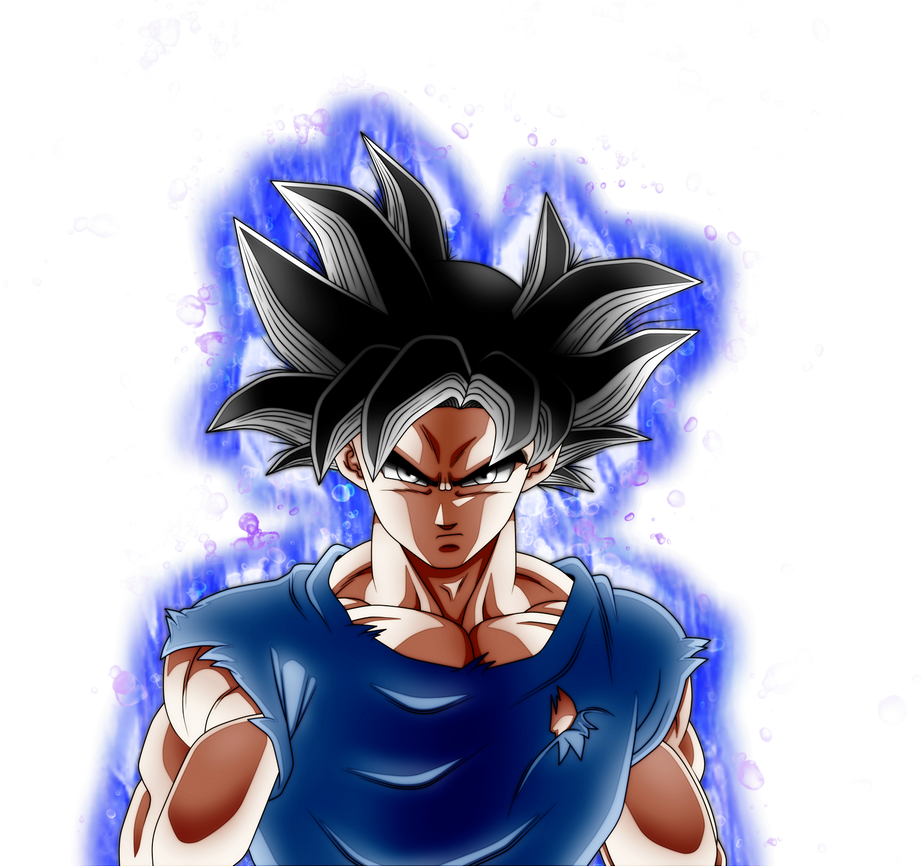 Goku Ultra Instinct Aura by AngelArts2 on DeviantArt
