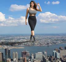 Giantess Mercedes Marie by xyu96
