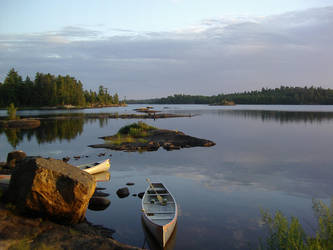 Boundary Waters by Toniasis