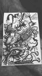 tentacle eyes by DreamPrint