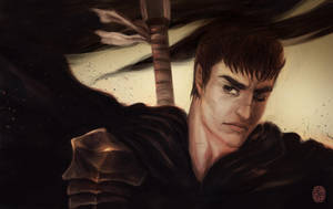 The Black Swordsman by vesssel