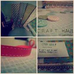 . craft haul . by oishicrafts