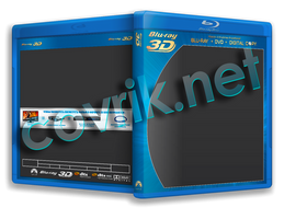 Blu-Ray 3D/Blu ray template psd by Covrik