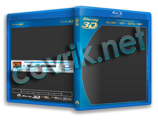 Blu-Ray 3D/Blu ray template psd by Covrik