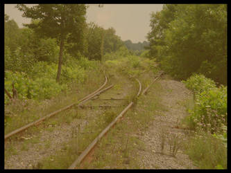 .:lonely railway:. by Develishious