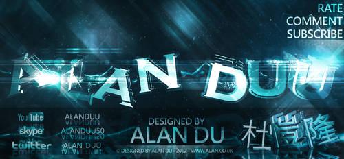 Alan Du: C4D/Photoshop by AlanDu