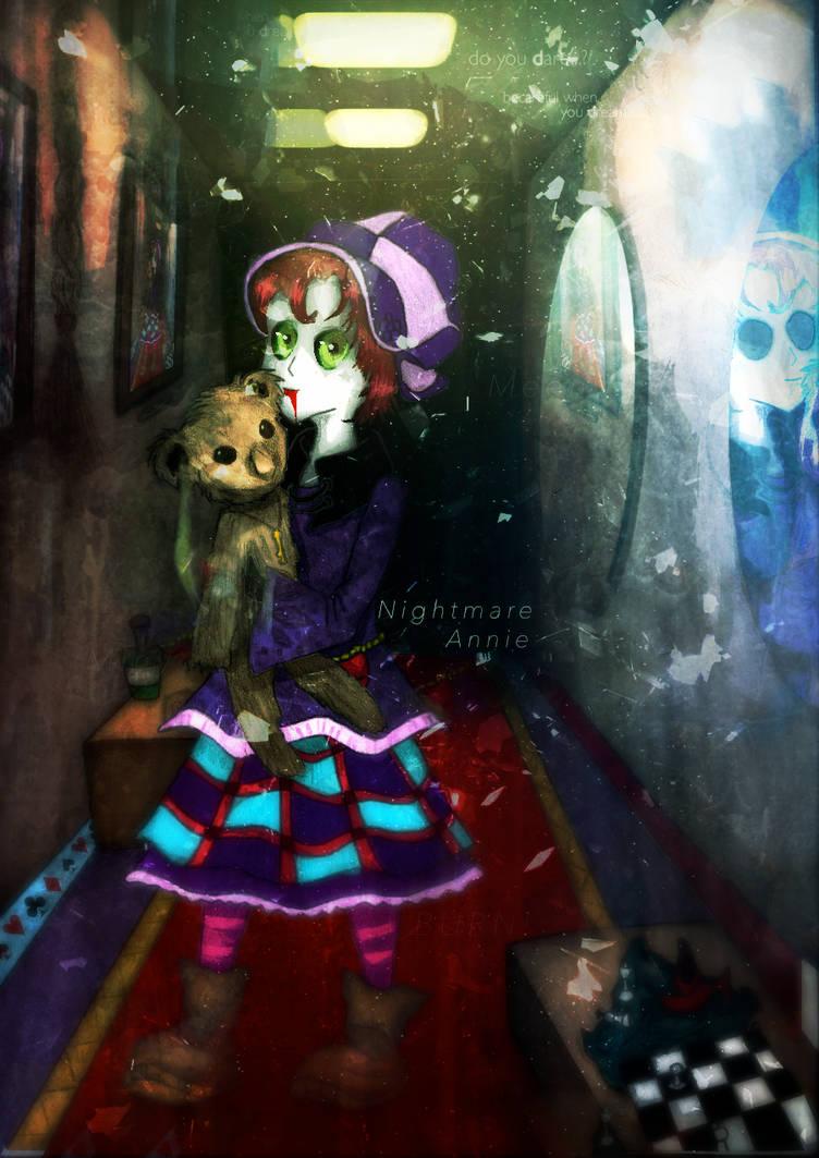 Nightmare Annie - League Of Legends by AlanDu