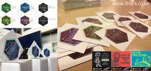 3Hack 2017 - Stickers by AlanDu