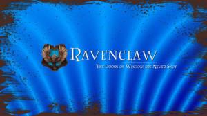 Hogwarts House Wallpaper : Ravenclaw by TheLadyAvatar
