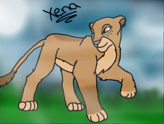 Kira the Lion by PikachuGirl234