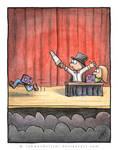 When magic tricks go wrong by Rahmschnitzel