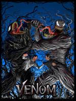 Venom vs Riot by scribbleNscratch