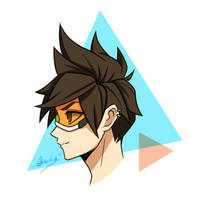 Tracer (OVERWATCH) by No2206