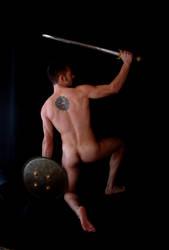 Classical Male Nude 2 by luzdeluna