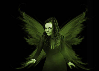 Anette Olzon, Absinthe fairy by Kath-Lin