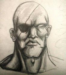 Sagat portrait by MajinBros