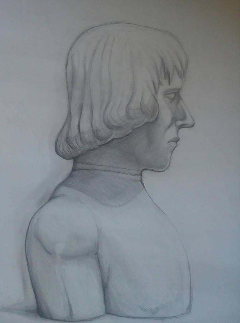 An unknown bust by MajinBros